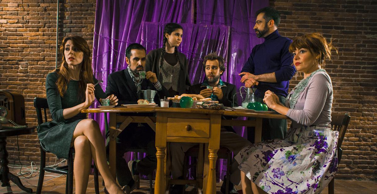 la casa de los huéspedes-teatro en serie